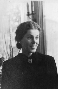 The beautiful Countess Bernadotte in 1944