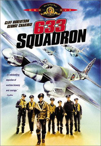 633 Squadron, World War II movie starring Cliff Robertson