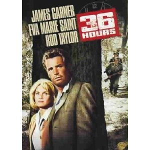 36 Hours, WWII Movie starring James Garner and Rod Taylor