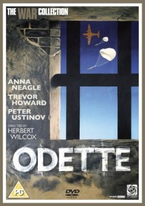 Odette, WWII Movie starring Anne Neagle and Trevor Howard