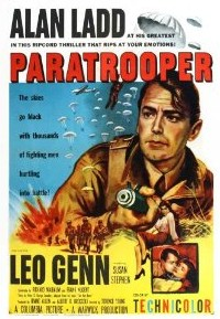Paratrooper, WWII Movie starring Alan Ladd