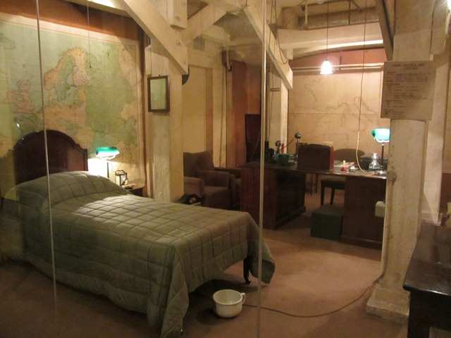 Churchill War Rooms | Liberty Lady