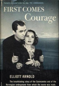First Comes Courage, WWII Book ... film starring Merle Oberon