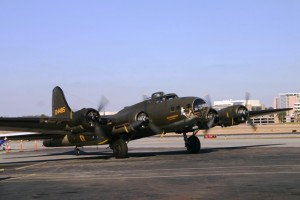 The Memphis Belle in Atlanta on March 3, 2013