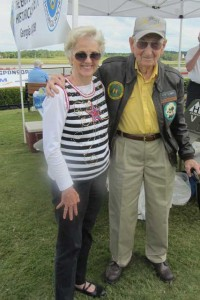 I was thrilled to see Albert McMahan again at the Atlanta Warbird Weekend.