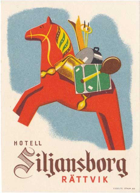 Hotell Siljansborg luggage tag