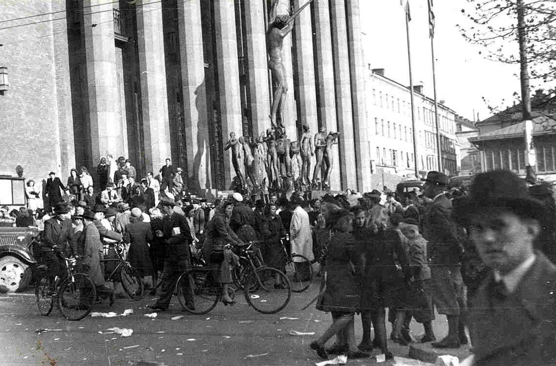 Stockholm on VE Day