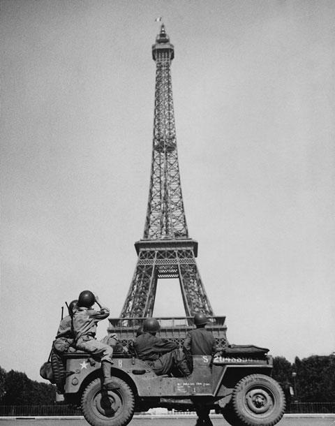 American soldiers Paris