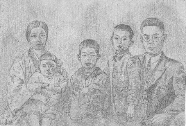 Hiroo Kawakami family