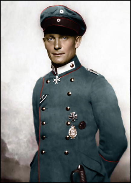 Hermann Göring in 1918