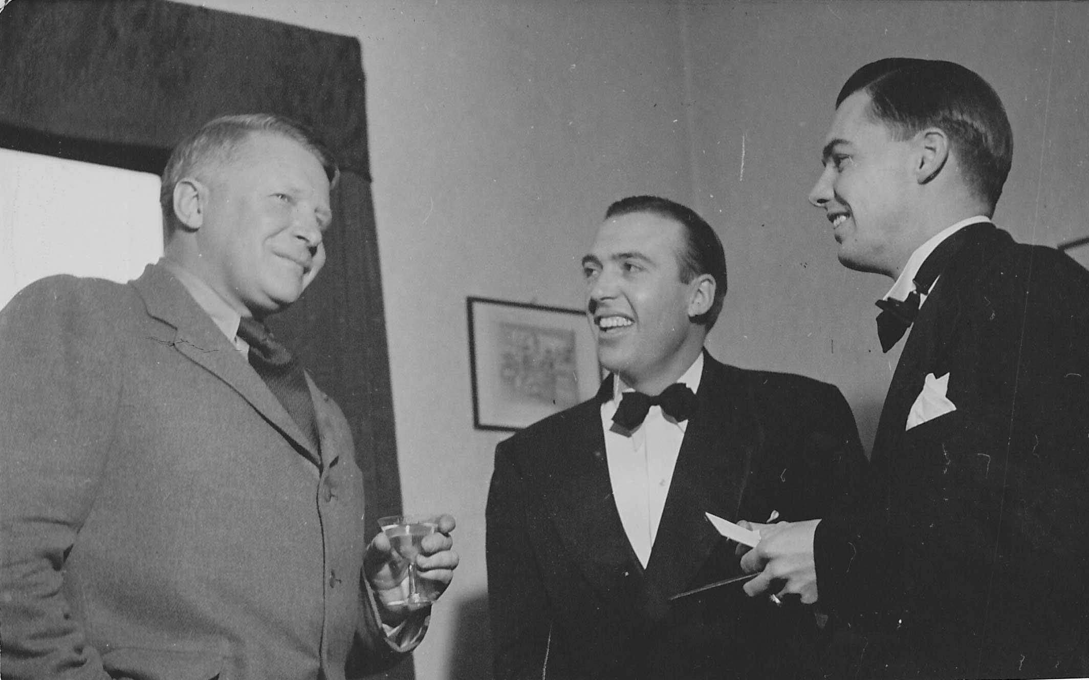 Bernt Balchen, Felix Hardison, Captain Robert L. Robb